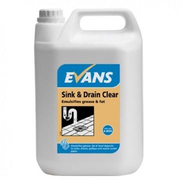 Sink & Drain Clear