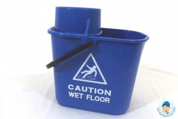 15 ltr Professional Bucket & Wringer (Blue)
