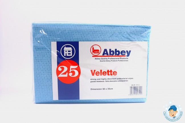 Velette Cloths 25 Pack Various Colours Available
