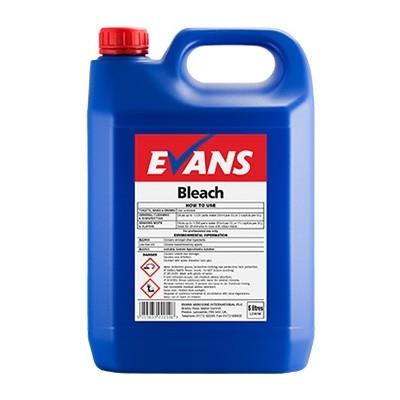Evans Vanodine Bleach General Purpose A065eev2 1x5litre