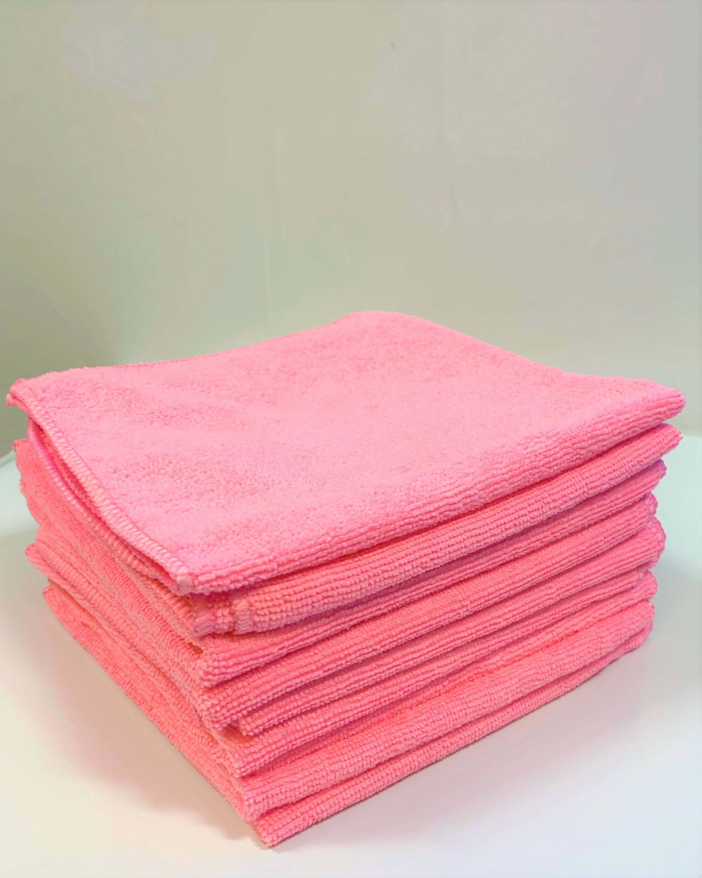 Contract Microfibre Cloths (10 Pack) (Various colours available)