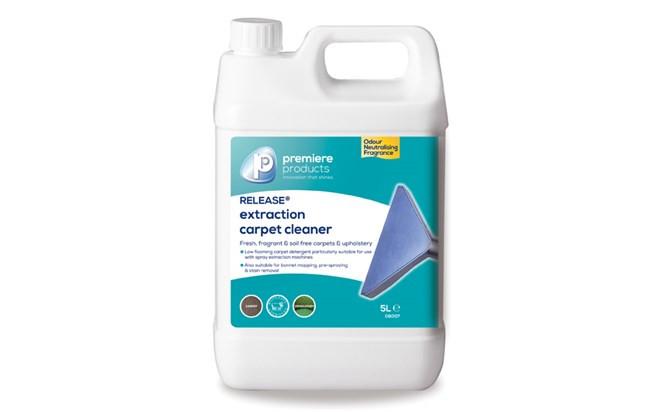 premiere Release carpet shampoo
