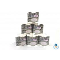 Optisilk Silver Luxury Embossed Toilet Rolls