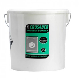 Evans Vanodine Crusader Booster Powder for Laundry C051AEV 1 x 10 kg
