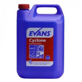 Evans Vanodine Cyclone Bleach A154EEV2  1x5Litre