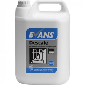 Evans Vanodine Descale For Automatic Machines and Equipment A178EEV2 1x5Litre