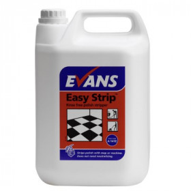 Evans Vanodine Easy Strip ™ Fast Acting Floor Polish Stripper A141EEV2 1x5Litre
