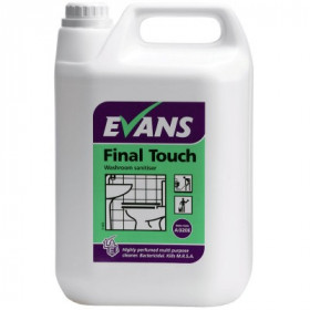Evans Vanodine Final Touch ™ Washroom Sanitiser A020EEV2 1x5Litre