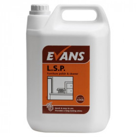Evans Vanodine L.S.P. Liquid Spray Polish A043EEV2 1x5Litre