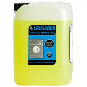 Evans Vanodine Crusader Alkali Booster For Laundry A144IEV 1x10Litre