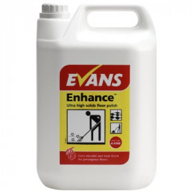 Evans Vanodine Enhance ™ Ultra High Solids Floor Polish A098EEV2 1x5Litre