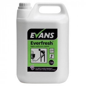Evans Vanodine Everfresh™ Apple Toilet and Washroom Cleaner A103EEV2 1x5Litre