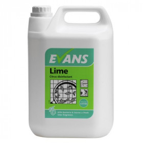 Evans Vanodine Lime Disinfectant A015EEV2 1x5Litre