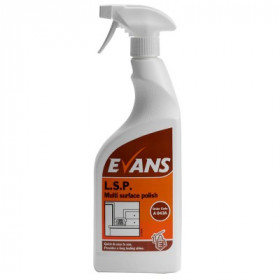 Evans Vanodine L.S.P. Liquid Spray Polish A043AEV 1x750ml