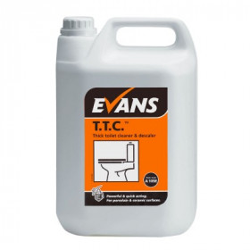 Evans Vanodine T.T.C. ™ Thick Toilet Cleaner and Descaler A105EEV2 1x5Litre