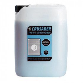 Evans Vanodine Crusader Fabric Conditioner For Laundry A142IEV 1x10Litre