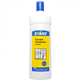 Evans Vanodine Cream Cleanser Hard Surface Cleaner C006LEV 1x500ml