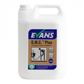 Evans Vanodine E.M.C. ™ Plus All Purpose Cleaner and Degreaser A080EEV2 1x5Litre