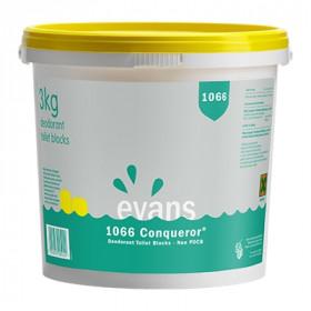 Evans Vanodine 1066 Conquerer ® (Non PDCB) Deodorant Toilet Blocks  A016DEV 1x3kg