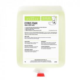 Evans Vanodine Citrus Foam Luxury Hand and Body Wash A181BEV  (Pack Of 6)