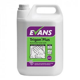 Evans Vanodine Trigon ® Plus Unperfumed, Bactericidal Hand Wash A087EEV2 1x5Litre
