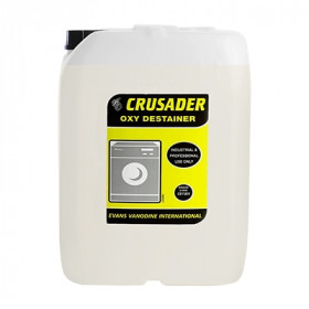 Evans Vanodine Crusader Oxy Destainer For Laundry C011IEV 1x10Litre
