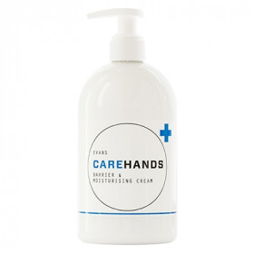 Evans Vanodine Carehands Barrier and Moisturising Hand Cream A045FEV 1x500ml