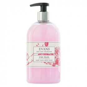 Evans Vanodine Pink Pearl ™ Pearlised Hand, Hair and Body Wash A079FEV 1x500ml