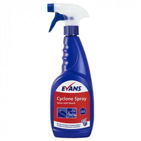 Evans Vanodine Cyclone Spray with Bleach A004AEV 1x750ml