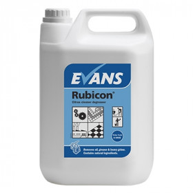 Evans Vanodine Rubicon ® Citrus Cleaner Degreaser A044EEV2 1x5Litre