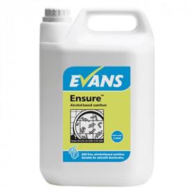 Evans Vanodine Ensure ™ Alcohol Sanitiser A053EEV2 1x5Litre