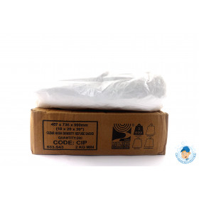 Clear Refuse Sacks 5KGs 18x29x39 CIP (200 in box)