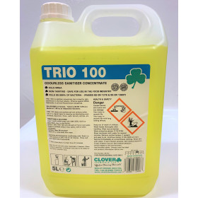 Trio 100  Kills 99.999% of bacteria
