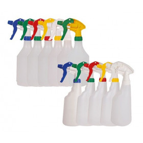 Clear Bottle & Spray Trigger Head