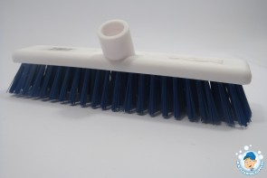 "12"" Washable broom - stiff bristles"