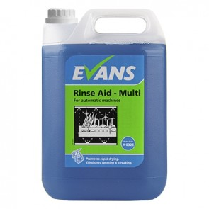 Evans Vanodine Rinse Aid Multi A032EEV2 For Automatic Machines
