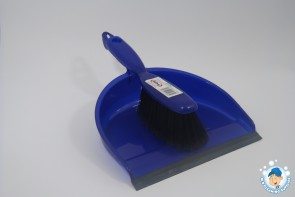 Abbey Hygiene Stiff & Soft Bristle Dustpan & Brush
