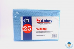 Velette Cloth 25 pack. 50x35cm