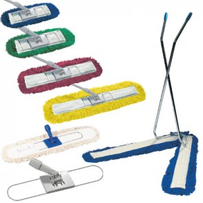 Dust Beaters - Colour Coded Complete with  head (Various Sizes available)