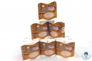 Optisilk Gold Luxury Embossed Toilet Rolls