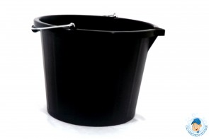 Black Buliders Bucket
