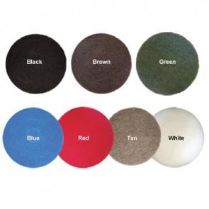 "15"" Standard speed floor pad - Blue,Red,Tan,White (Default)"