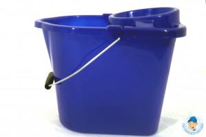 12 ltr Hygiene Standard Bucket & Wringer Blue