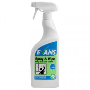 Evans Vanodine Spray & Wipe RTU A028AEV Furniture Polish & Window Cleaner