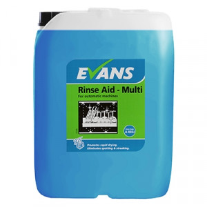 Evans Vanodine Rinse Aid Multi A032JEV For Automatic Machines
