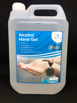 Alcohol Hand Gel - 5L (73%)