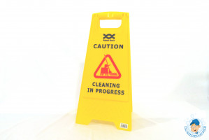 Caution Wet Floor/Cleaning in Progress