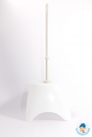 Contract toilet brush & holder