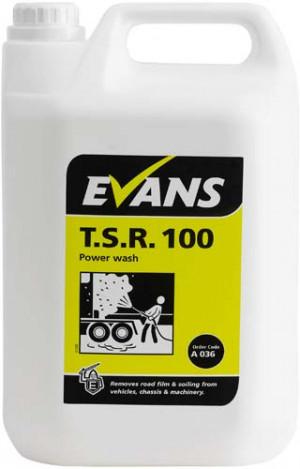 Evans Vanodine T.S.R. 100 Traffic Soil Remover A036EEV2 1x5Litre