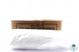 XB White bin liners.